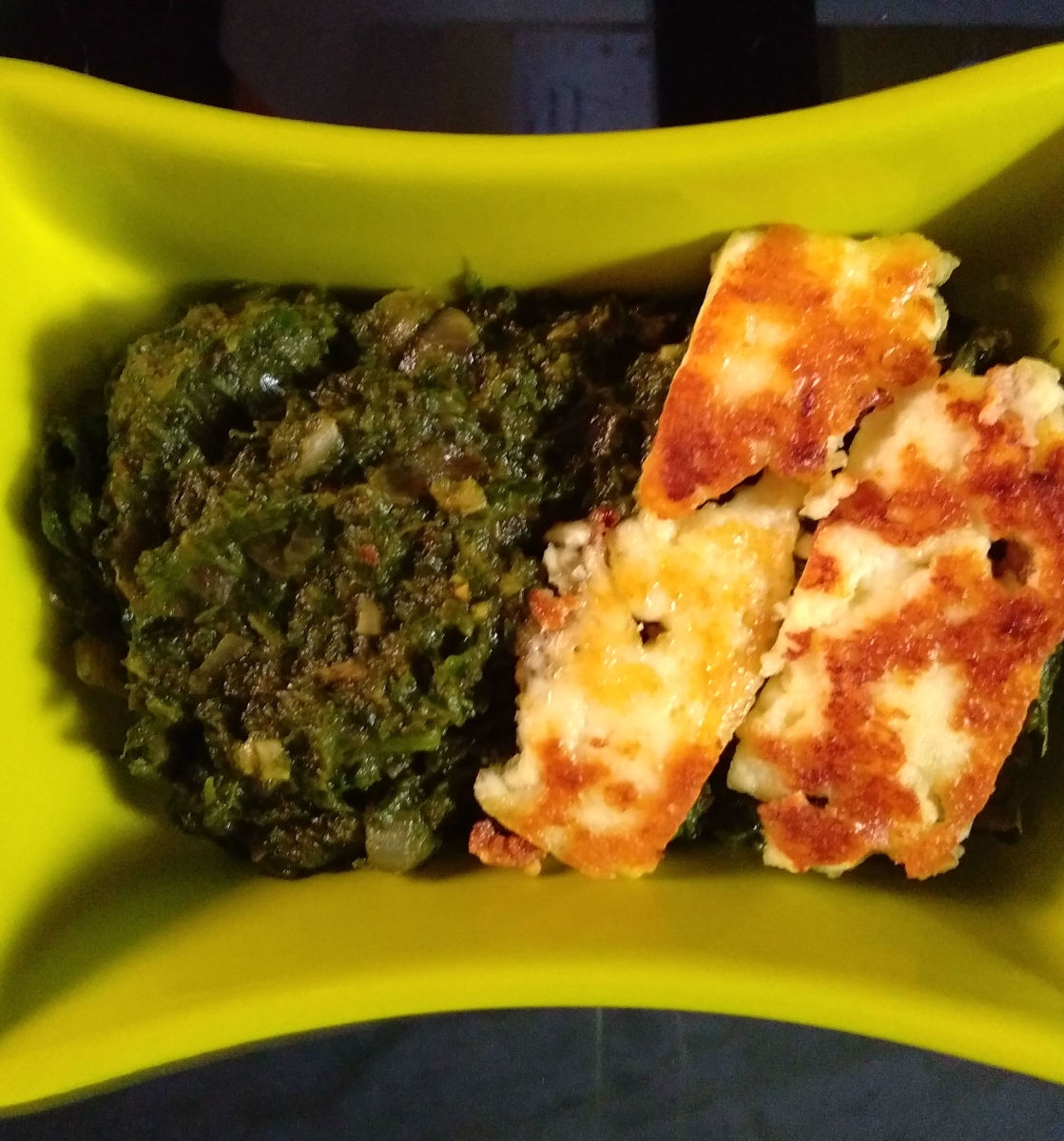 Healthy Curries: Spinach and Paneer Curry