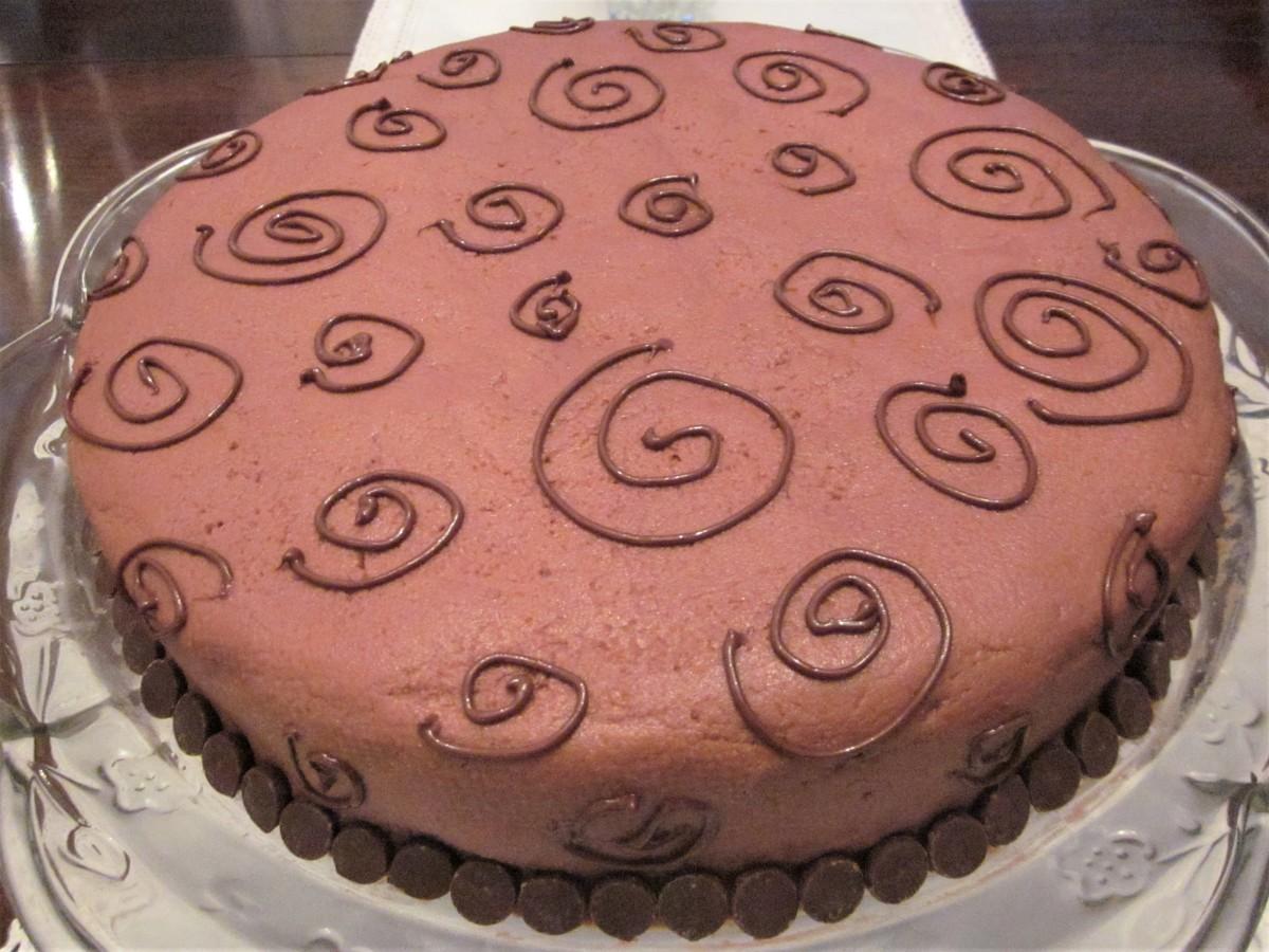 Gluten-Free Chocolate Spice Cake