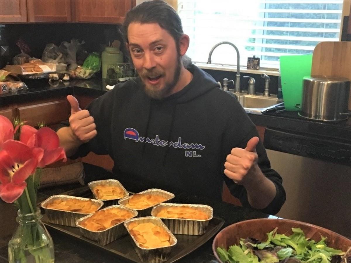 Jon's Spicy Vegan Pot Pie