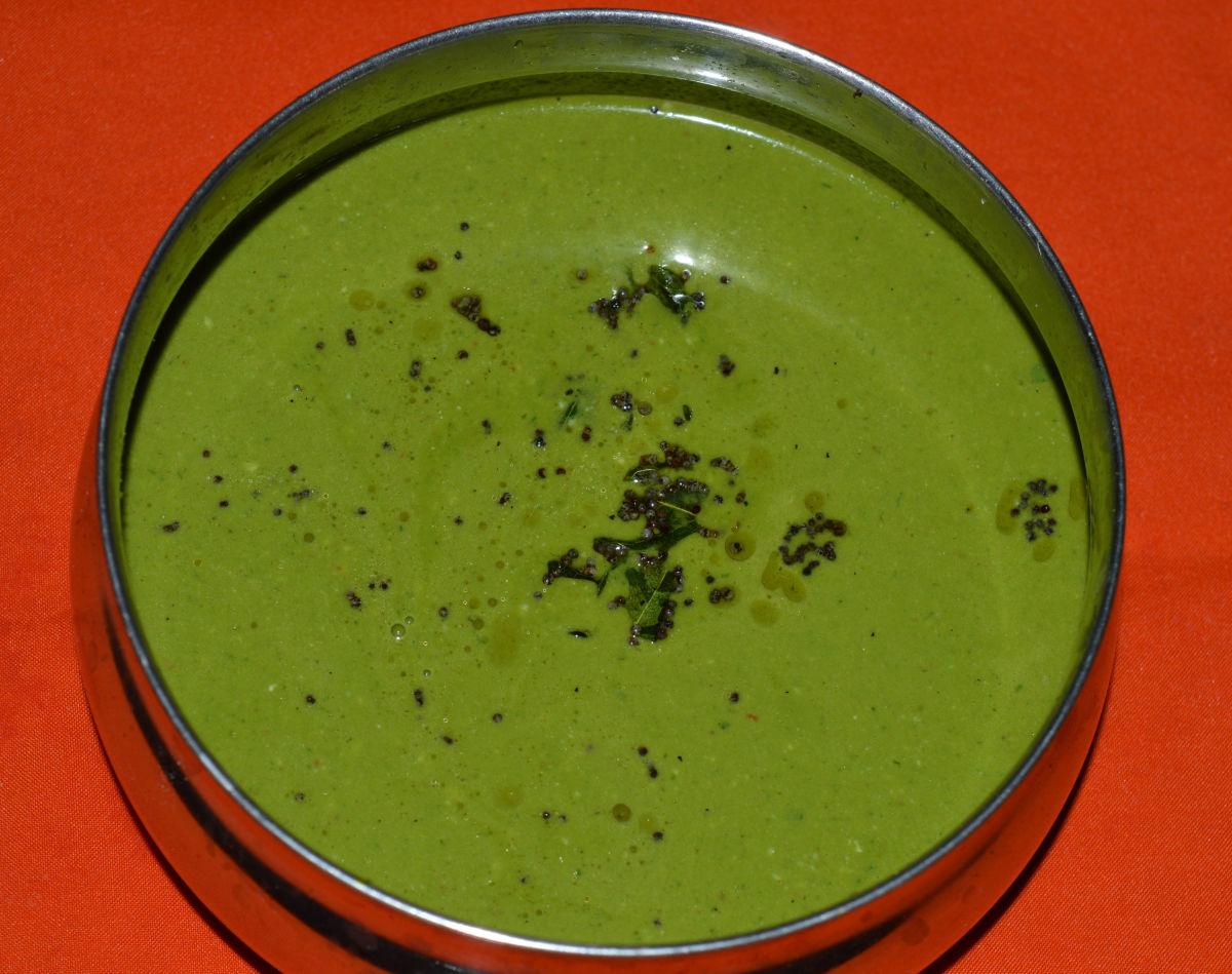 Leafy vegetable green drink(Tambuli)