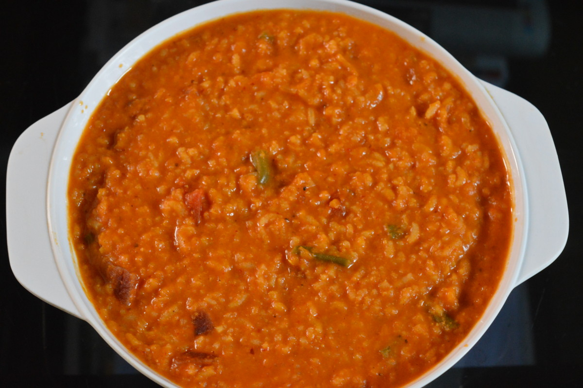 Healthy Recipes: Bisi Bele Bath (Hot Lentil Rice) Recipe