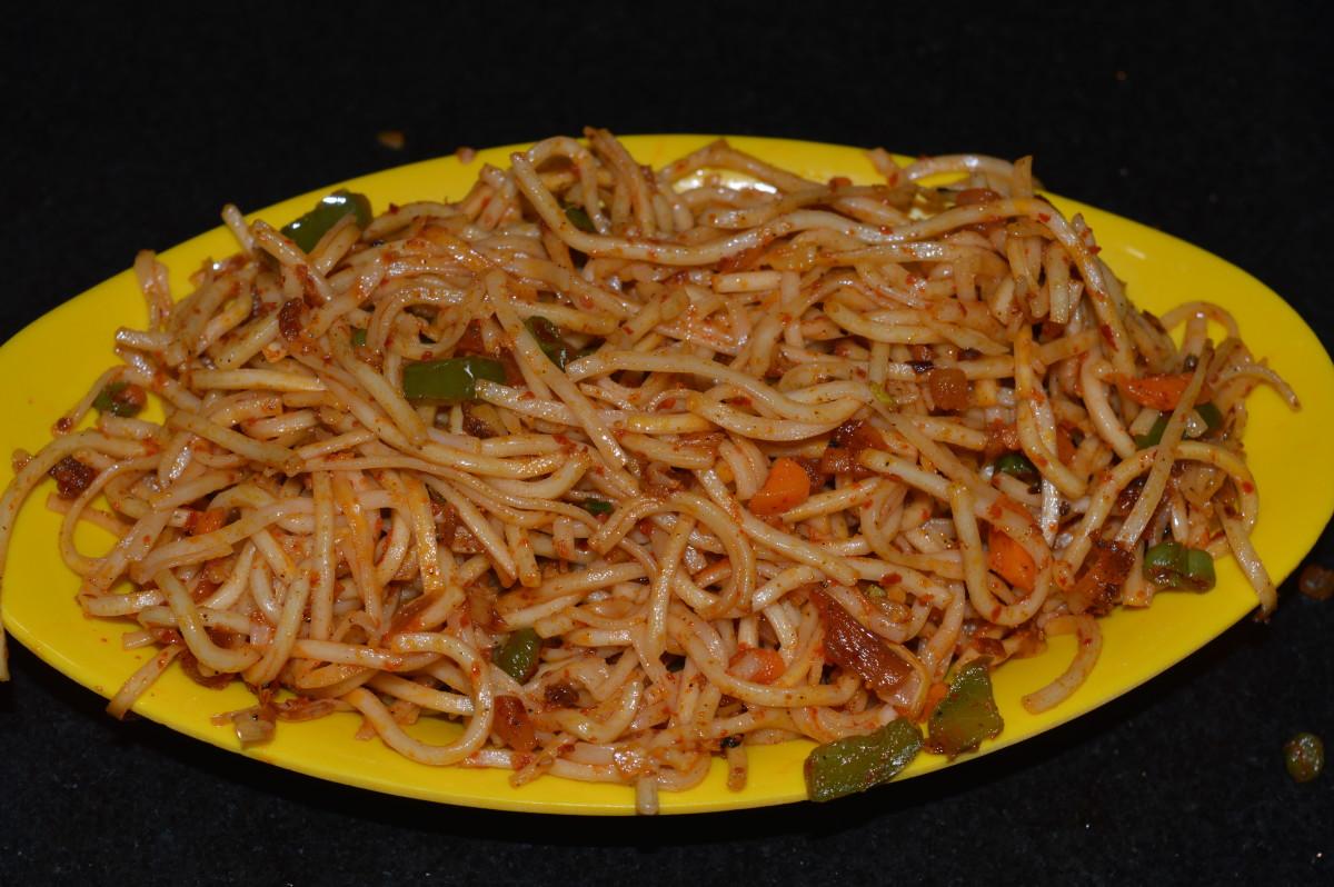 Szechwan noodles