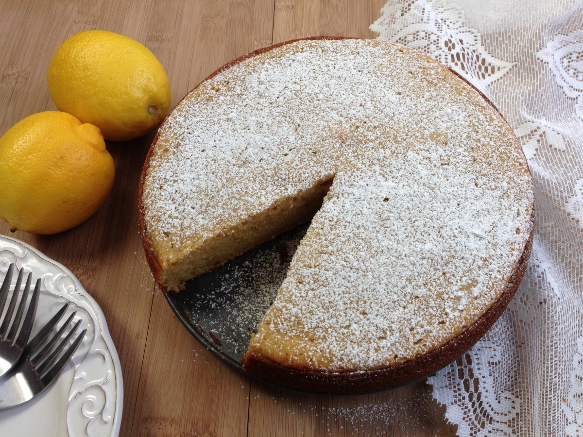 Fresh Lemon Olive Oil Cake Recipe