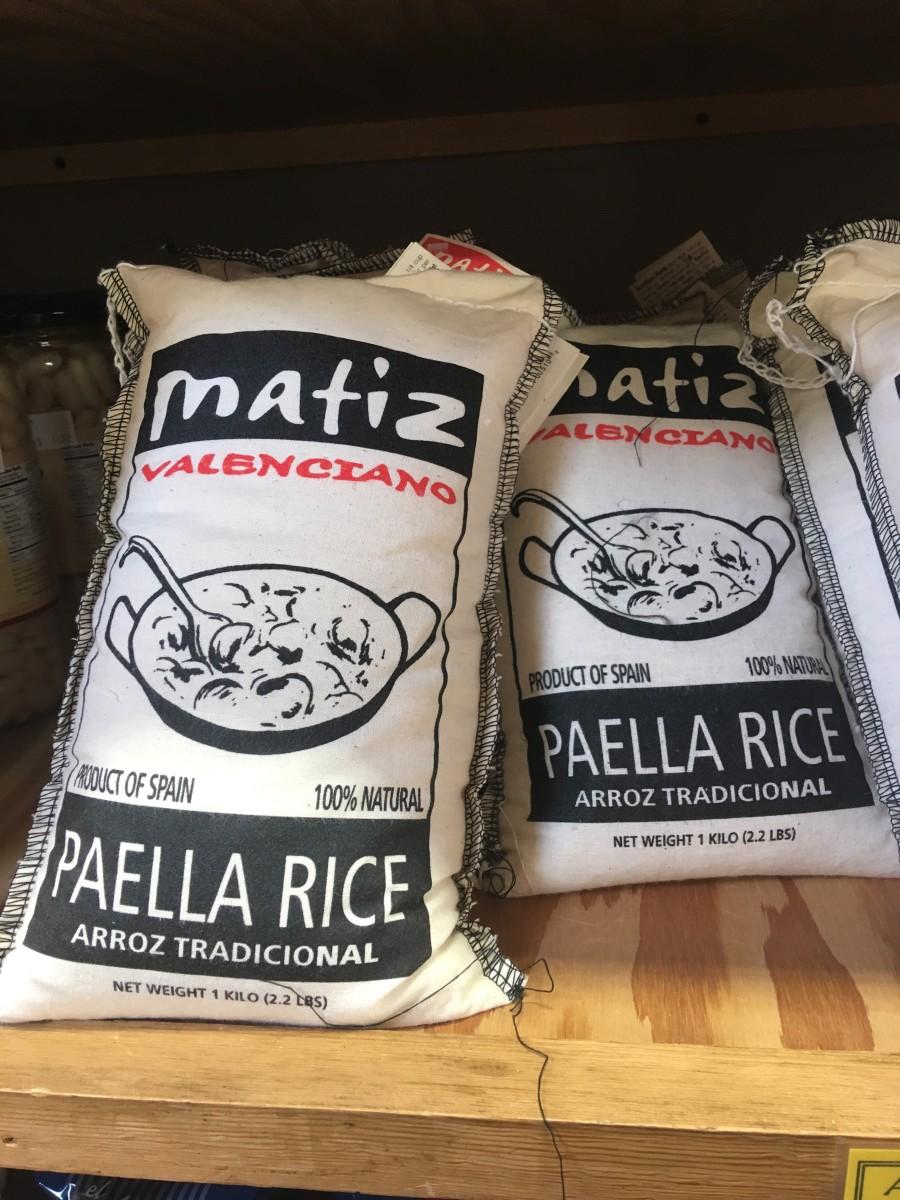 Spanish paella rice