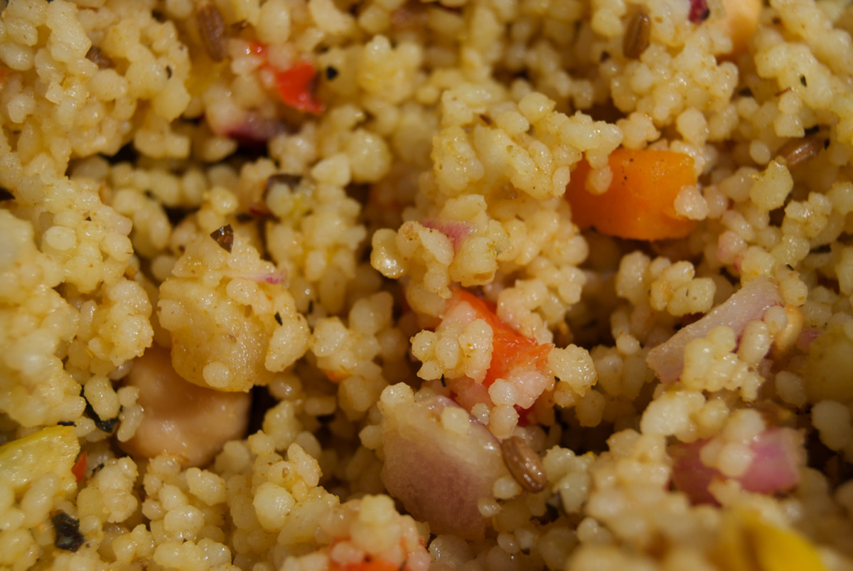 Cous cous is a nutritious and versitle grain.