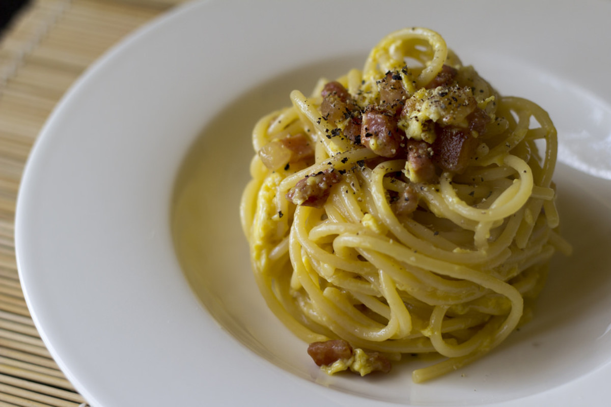 Traditional Spaghetti Carbonara