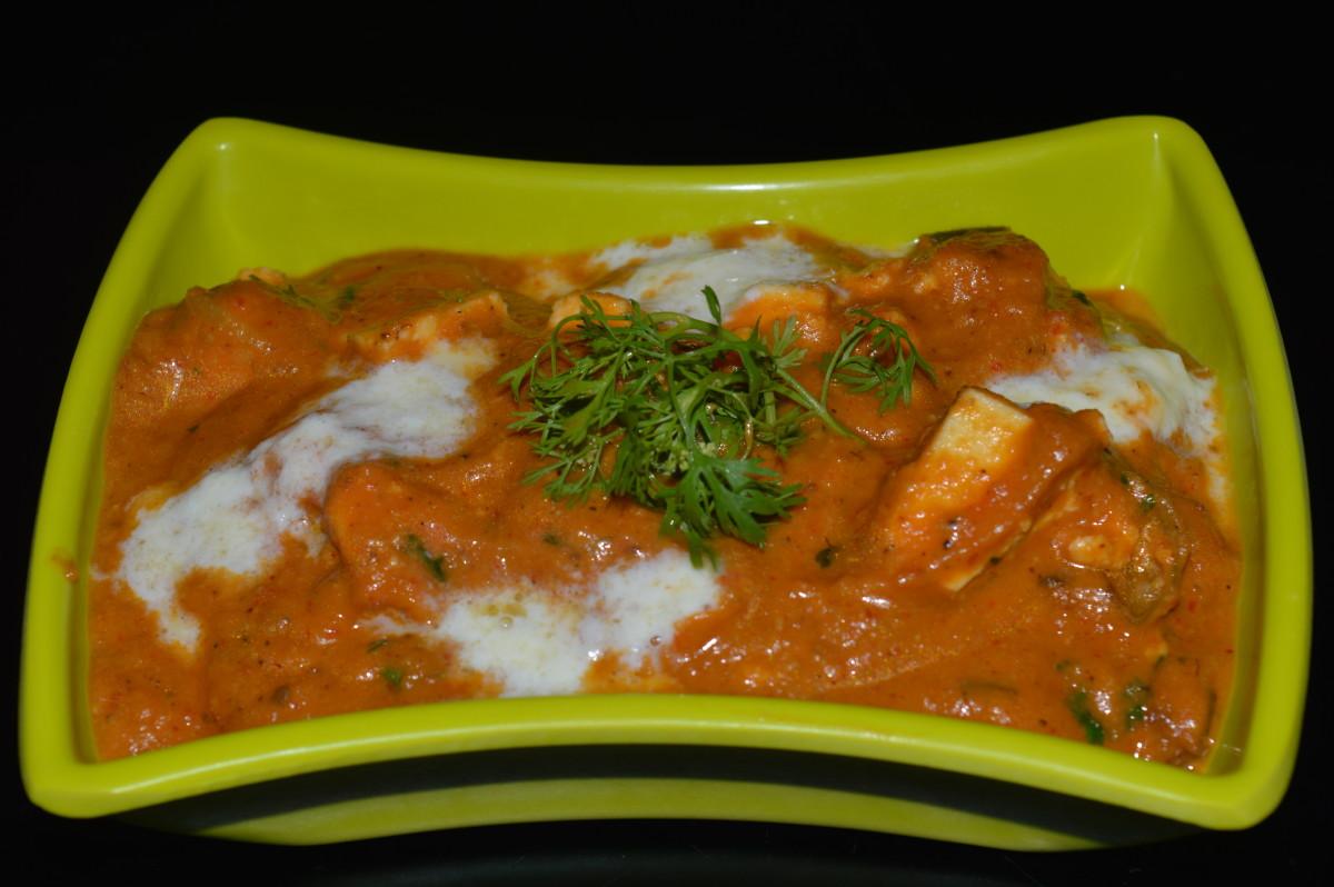 Healthy Side Dish: Shahi Paneer Recipe
