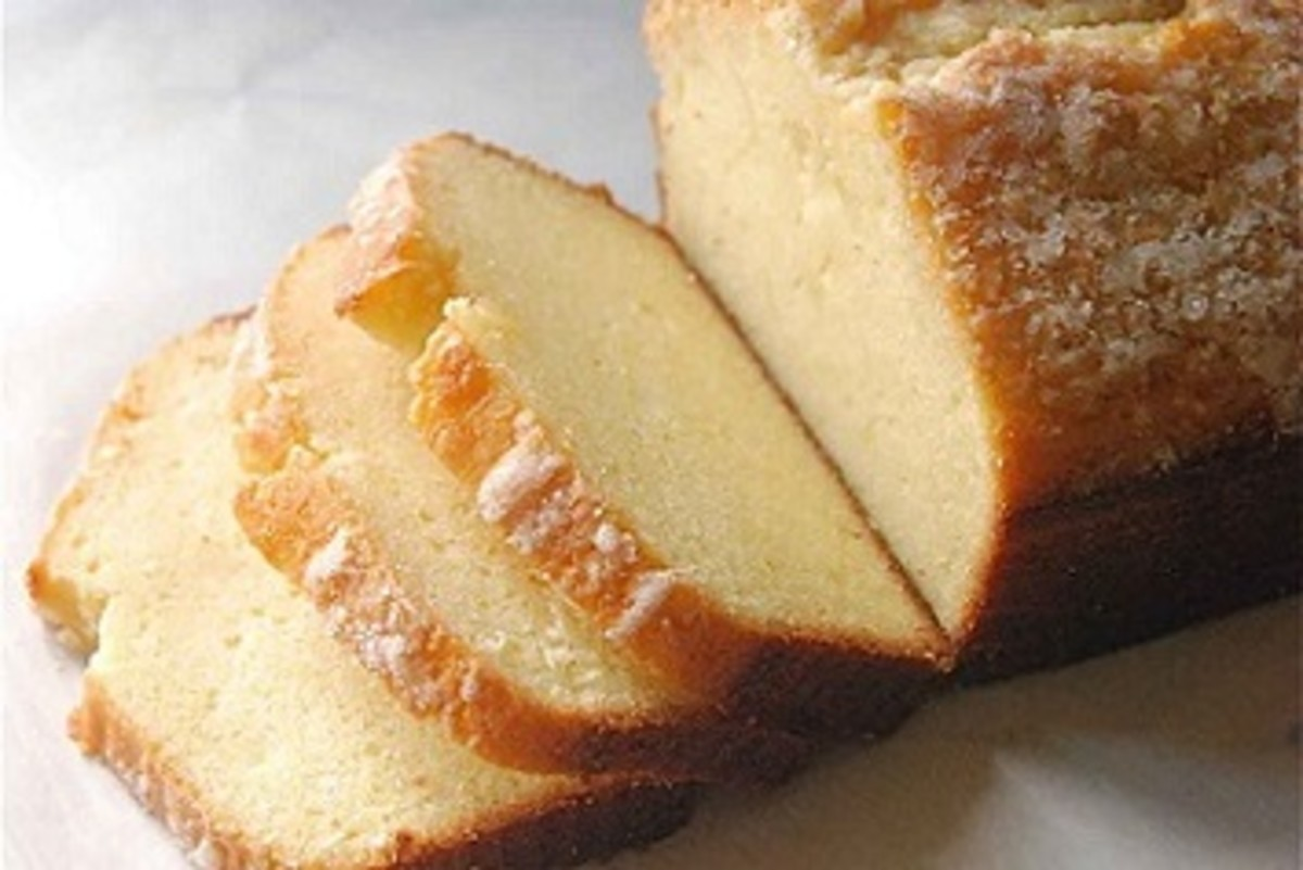 How to Make Delicious Butter Pound Cake (4 Recipes)