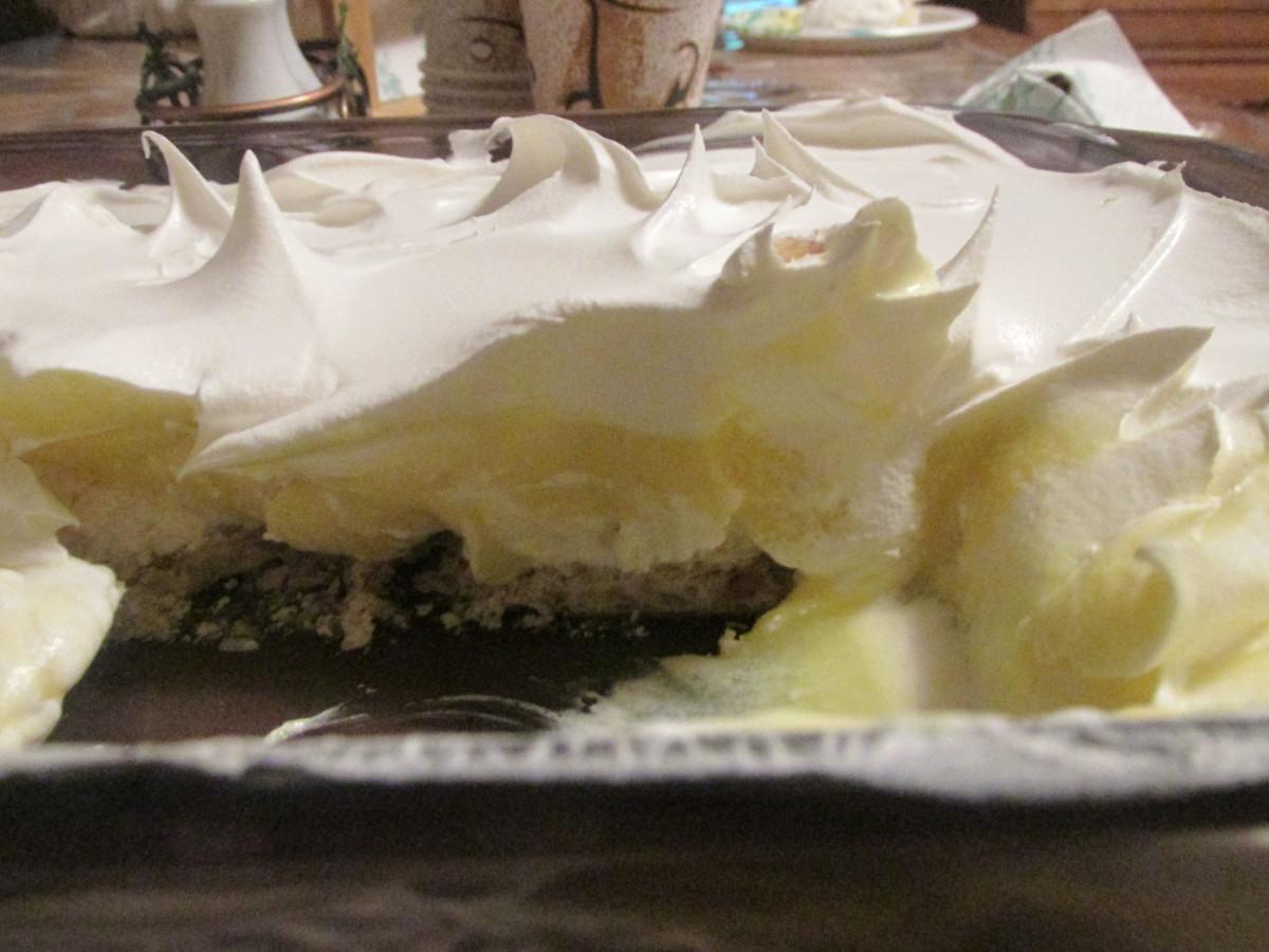Lemon Lush, ready to eat.