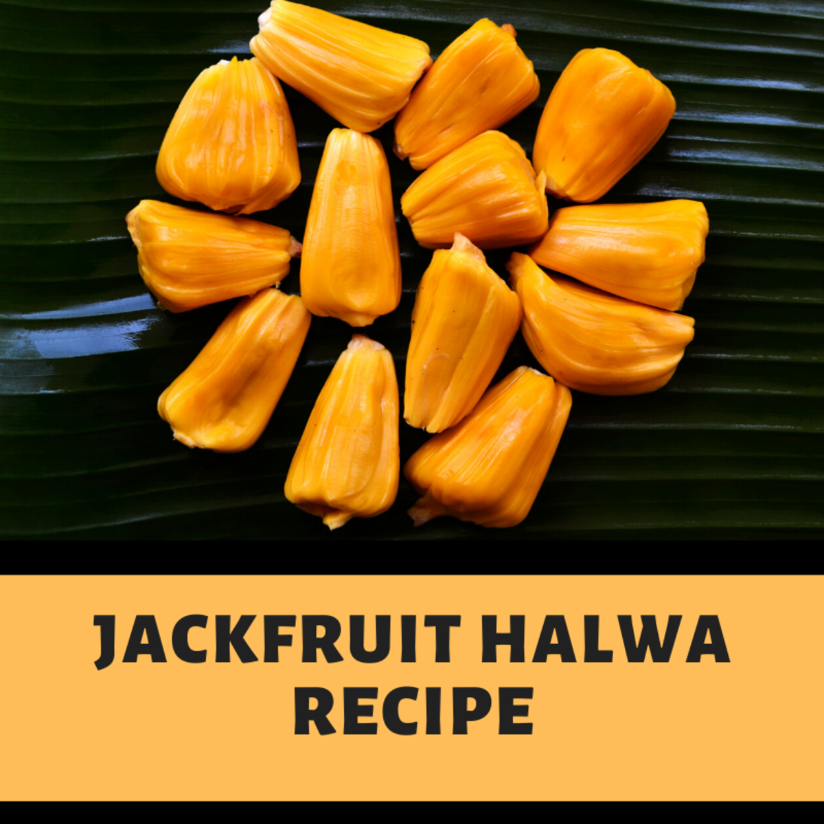 Jackfruit flesh