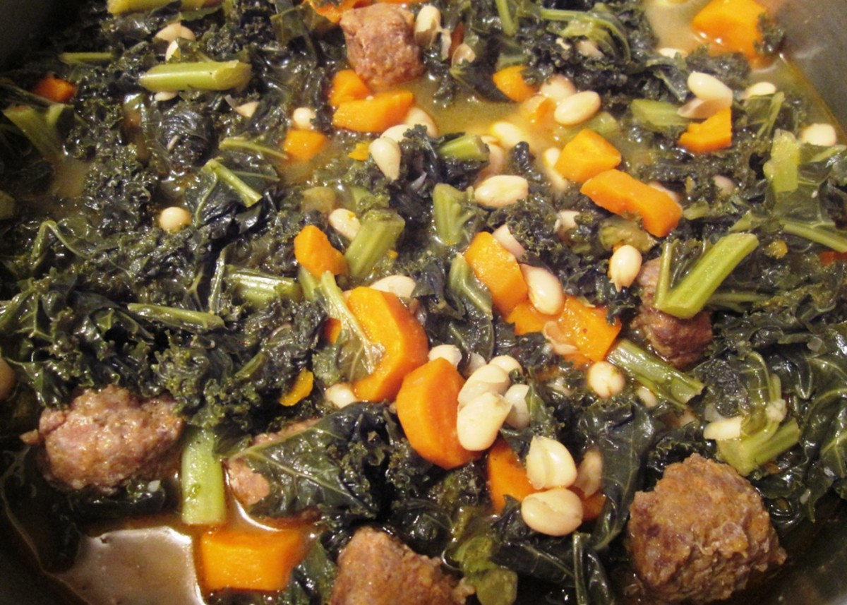 Healthy One Pot Meal: Kale & Carrot Soup