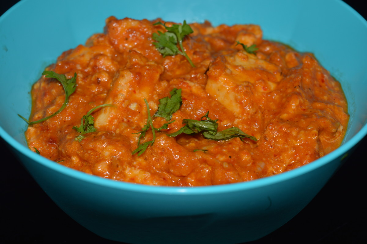Paneer Makhani: A Curry With Butter and Tomato Gravy