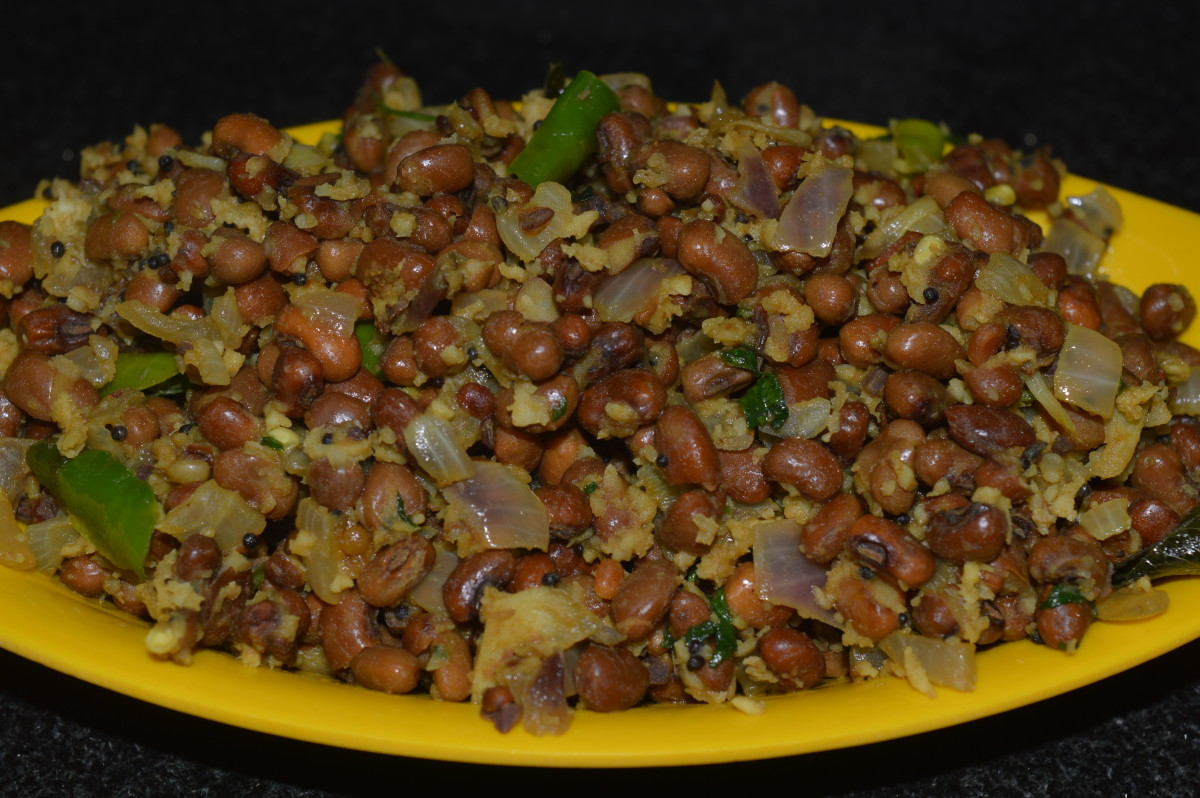 How to Make Black-Eyed Bean Salad