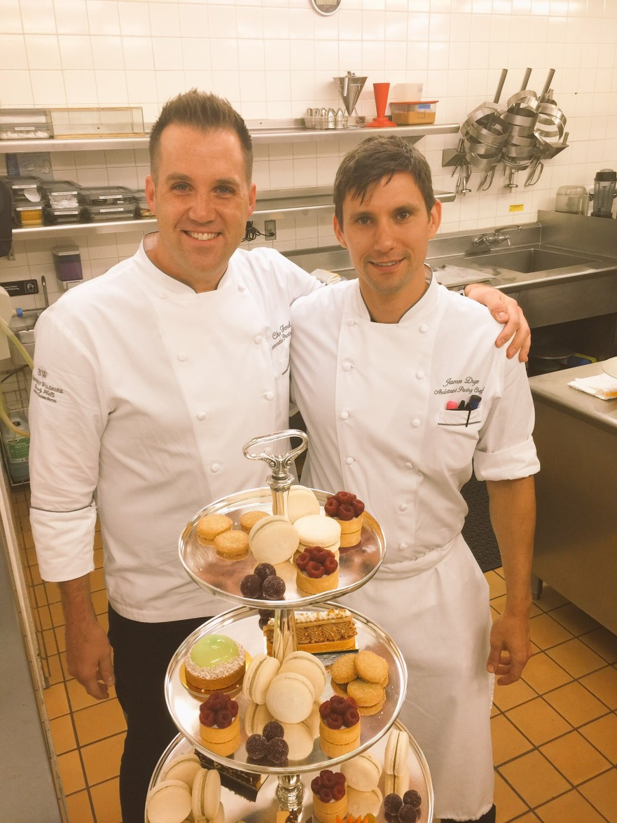 Making Desserts at the Beverly Wilshire Hotel