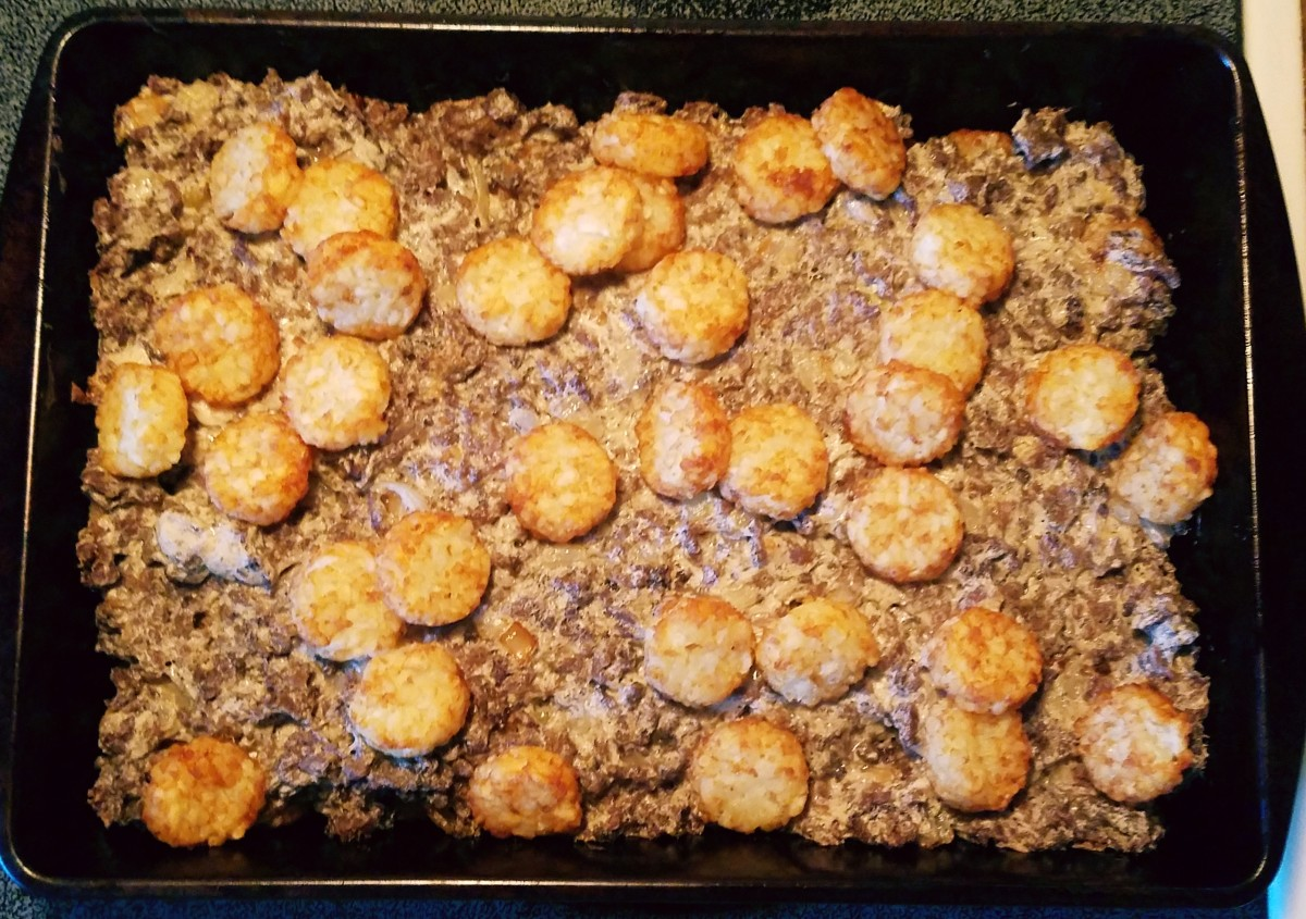 Twisted Tater Tot Casserole Recipe