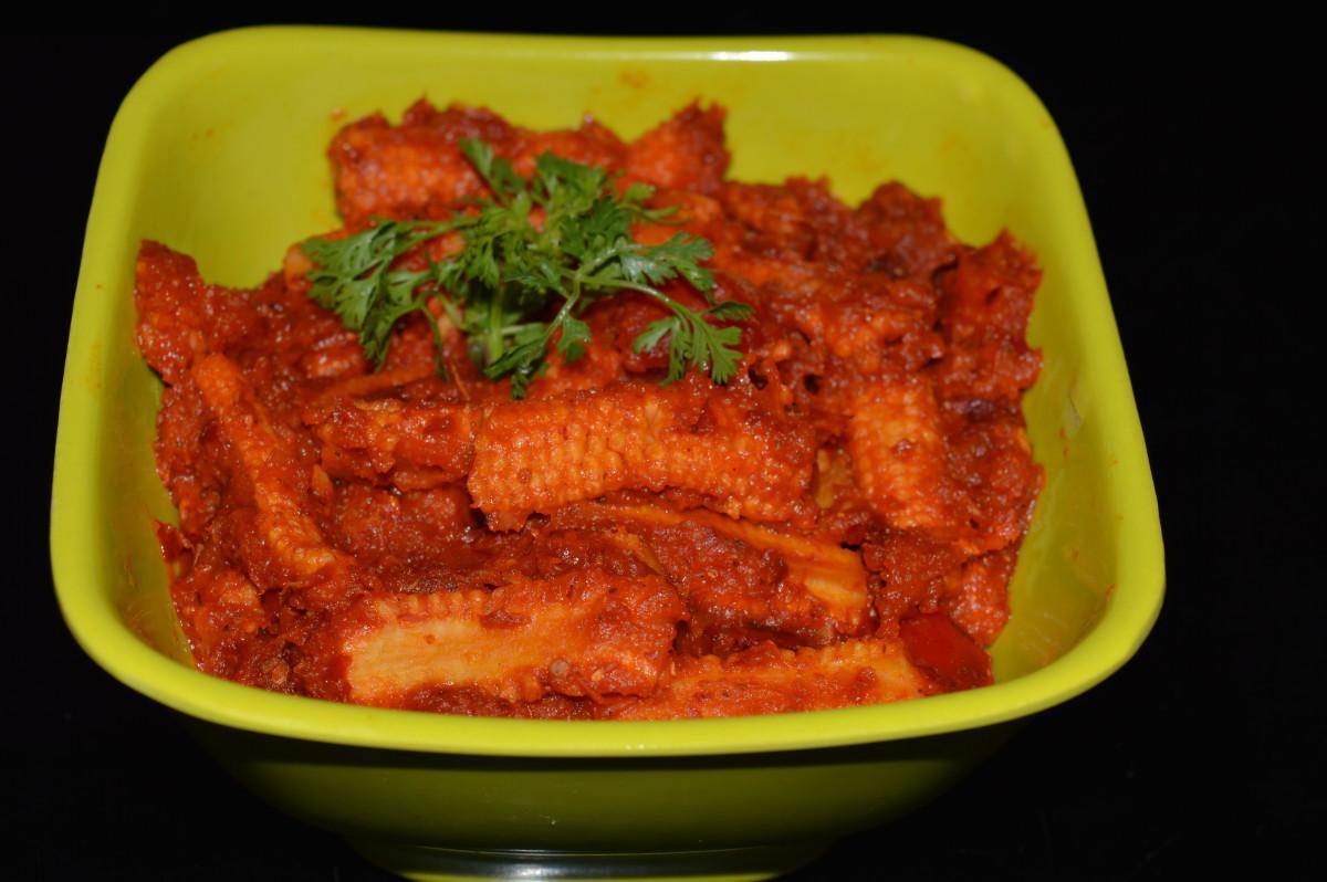 Baby Corn Masala Curry