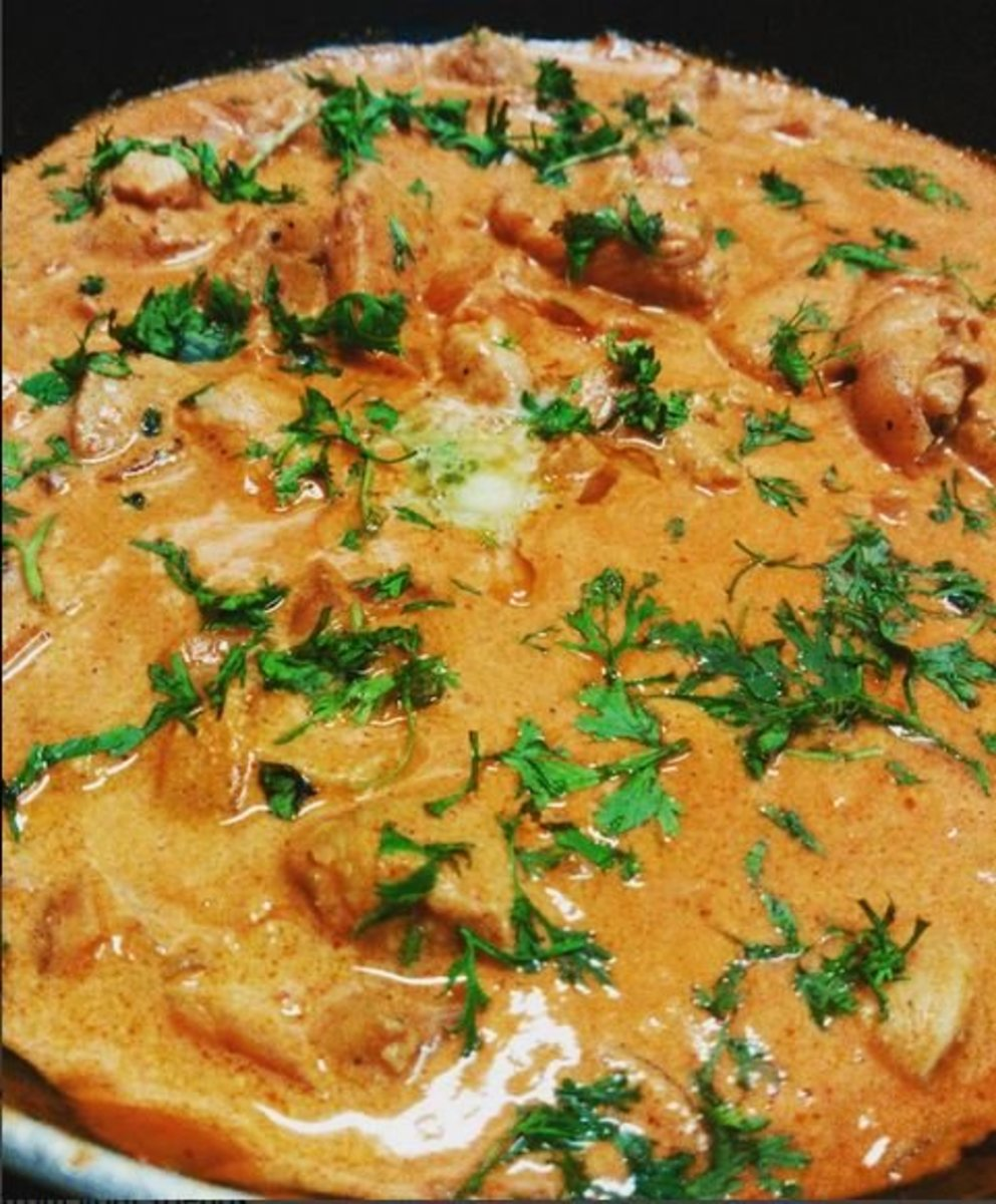 Tasty Butter Chicken