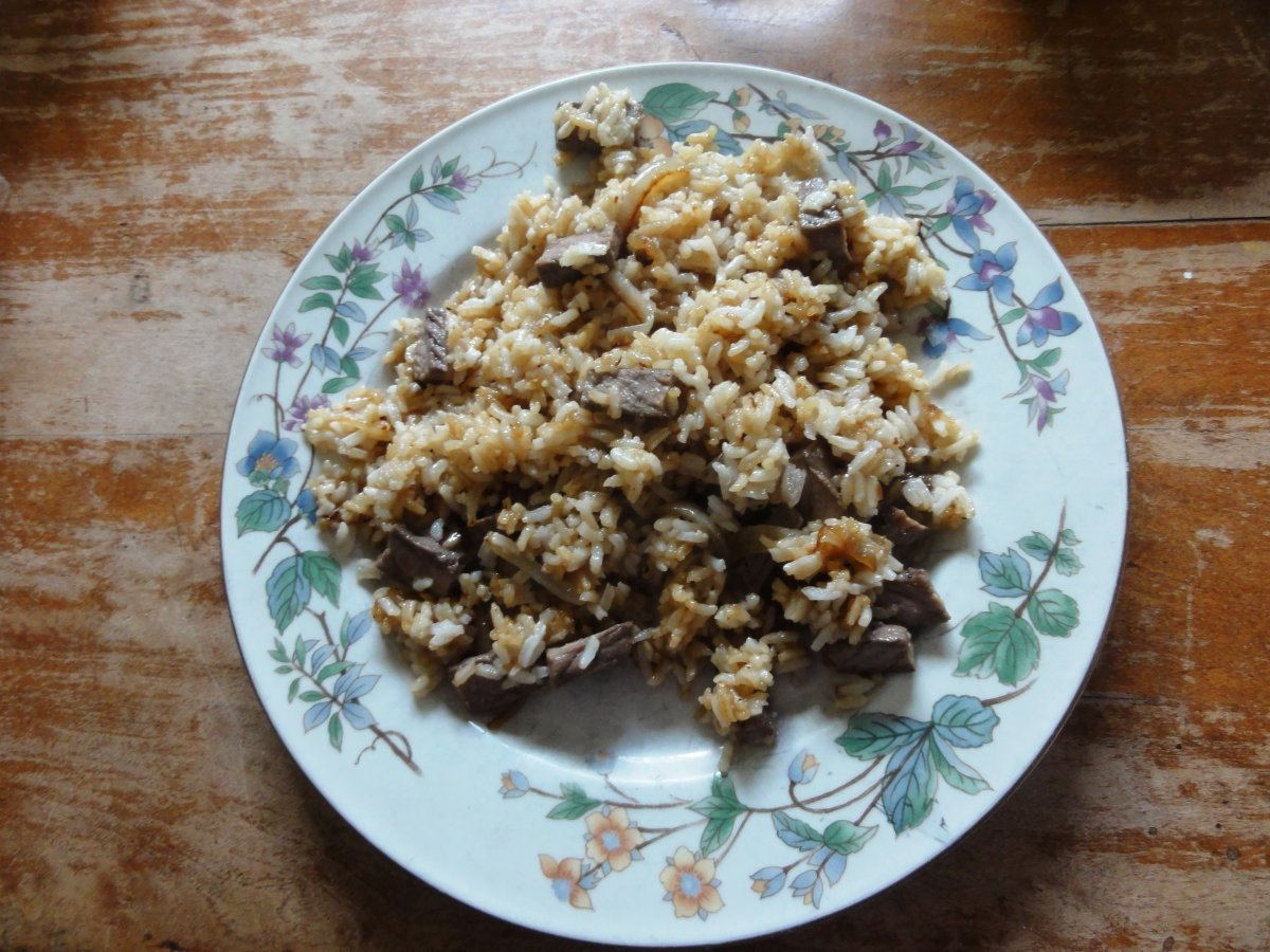 procedure how to make fried rice