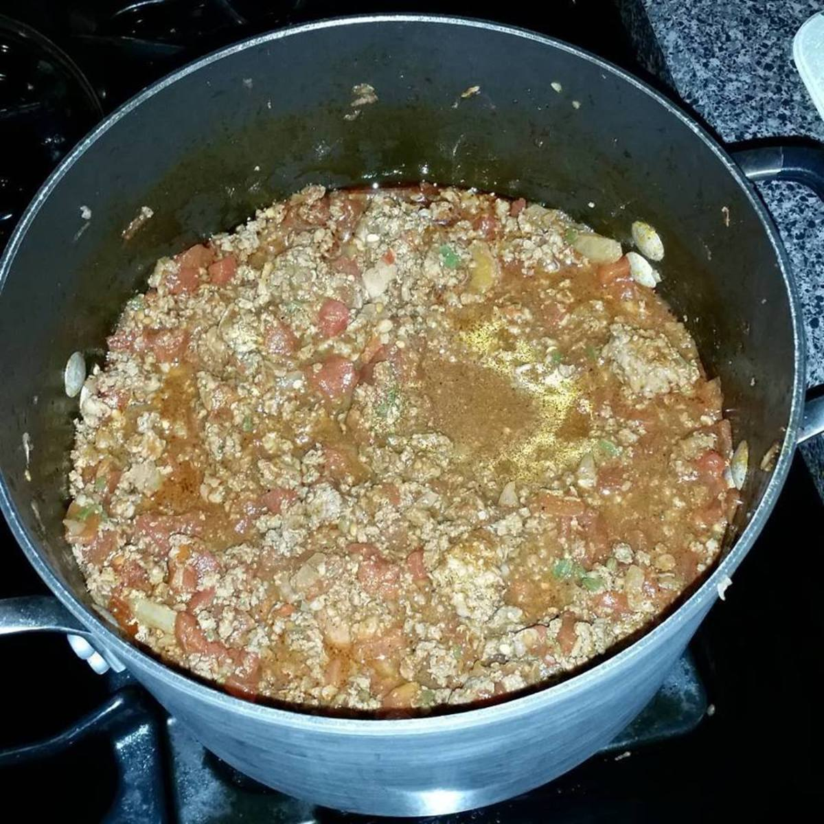XXX Extra Hot Texas Style Chili