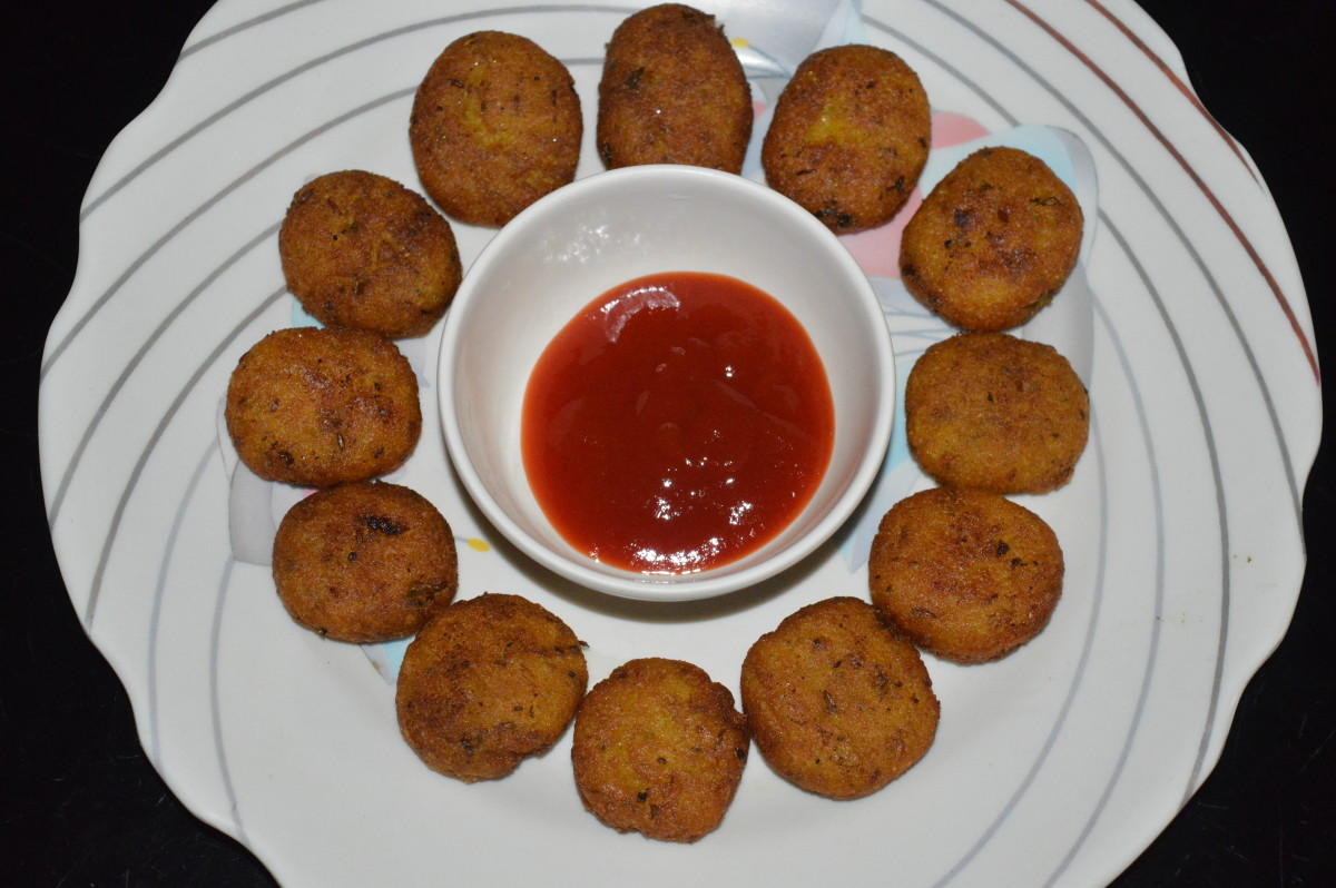 Gram Flour and Semolina Snacks Recipe