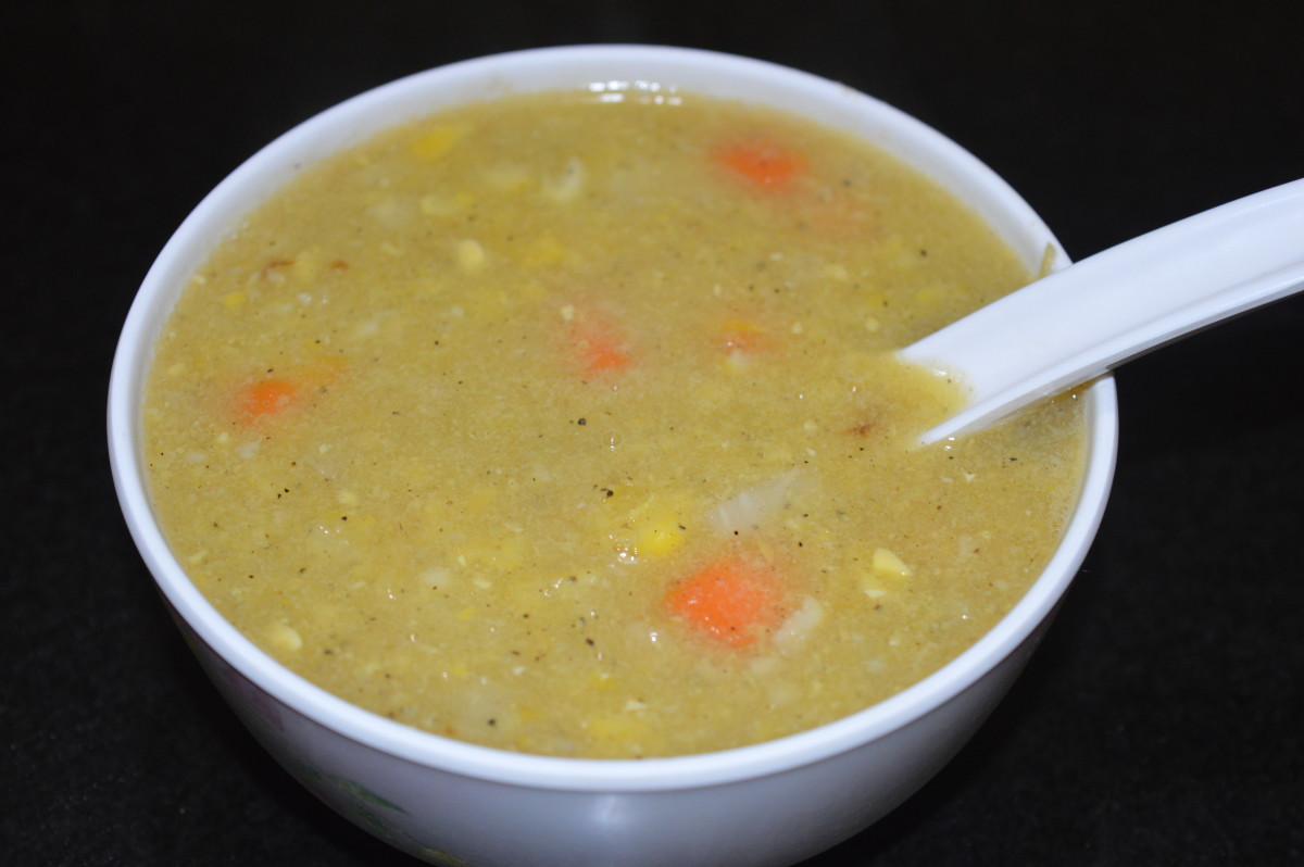 Creamy Corn and Vegetable Soup Recipe