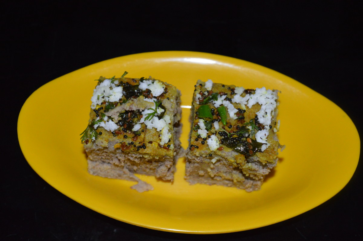 Healthy Snacks: How to Make Multi Pulses Dhokla (With Photos)