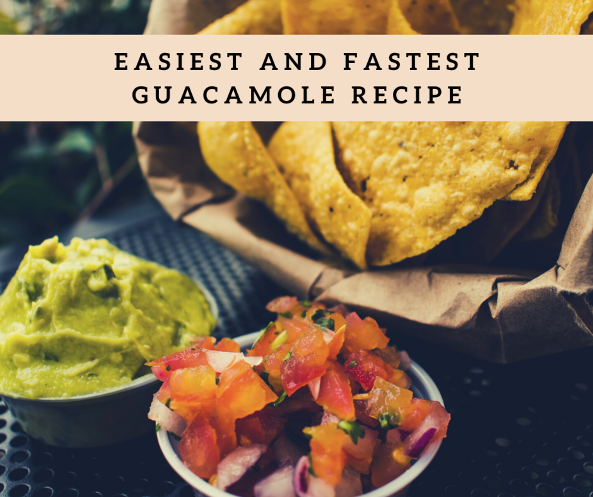 The Easiest and Fastest Guacamole Ever
