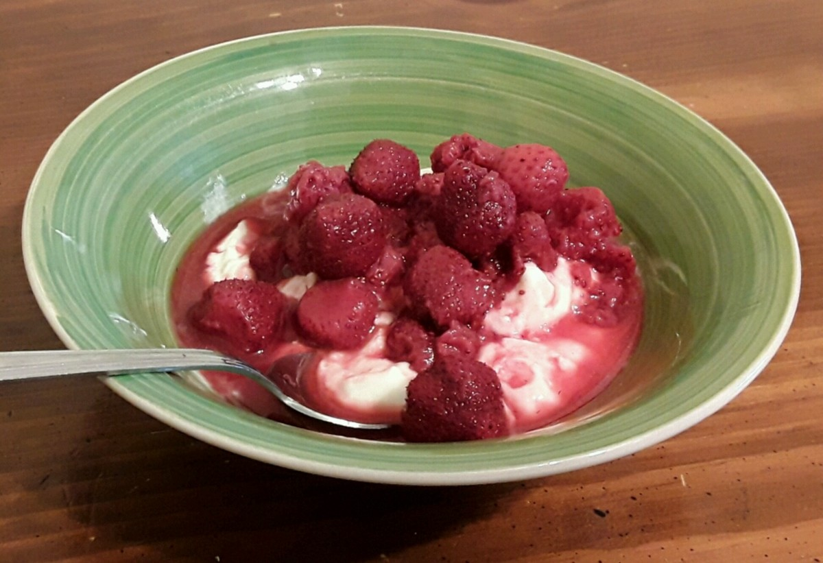 One tasty way to enjoy your cultured berries.