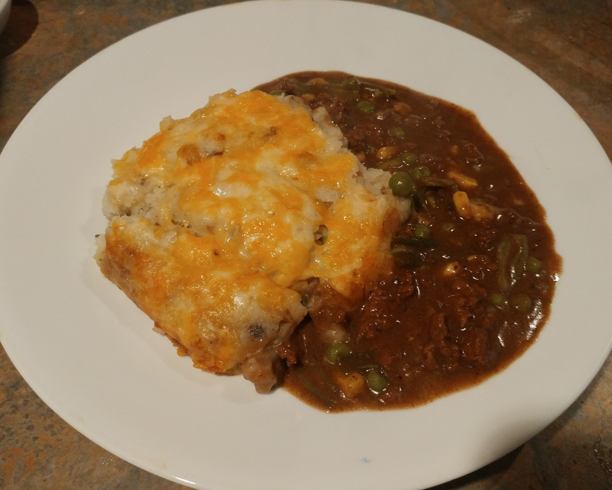 How to Make a Beefy Shepard's Pie