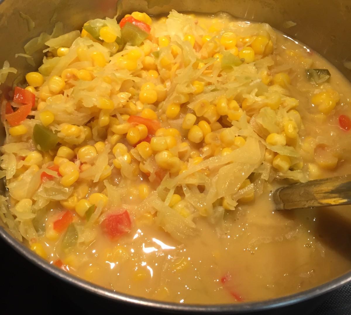 homemade corn relish