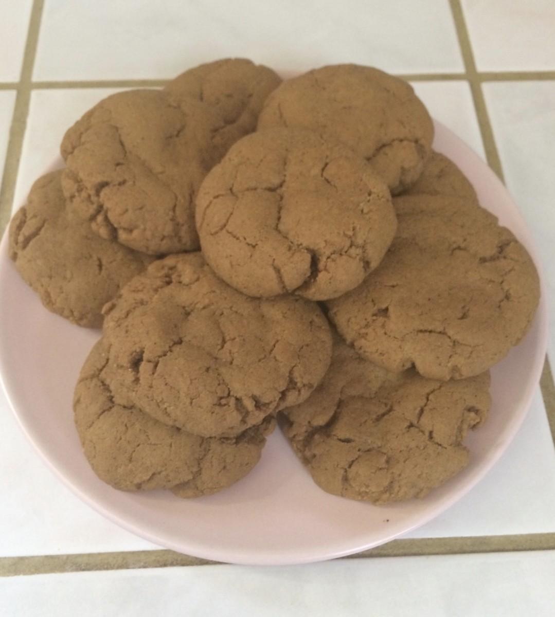 Scrumptious Ginger Cookies
