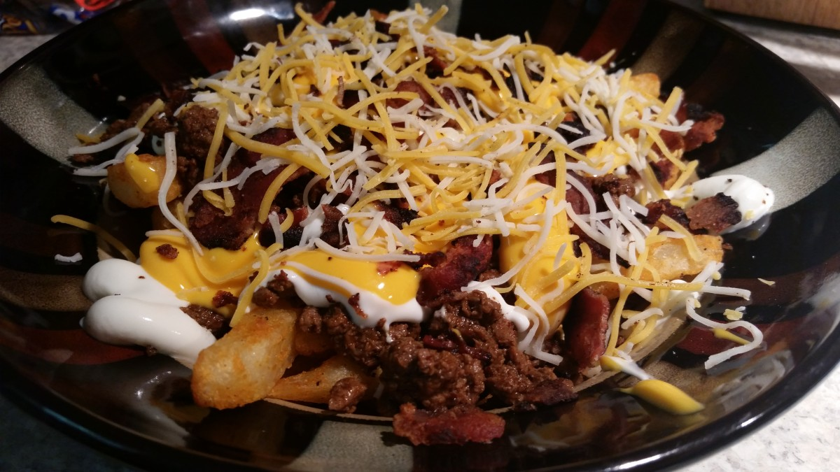 Love these loaded taco fries!