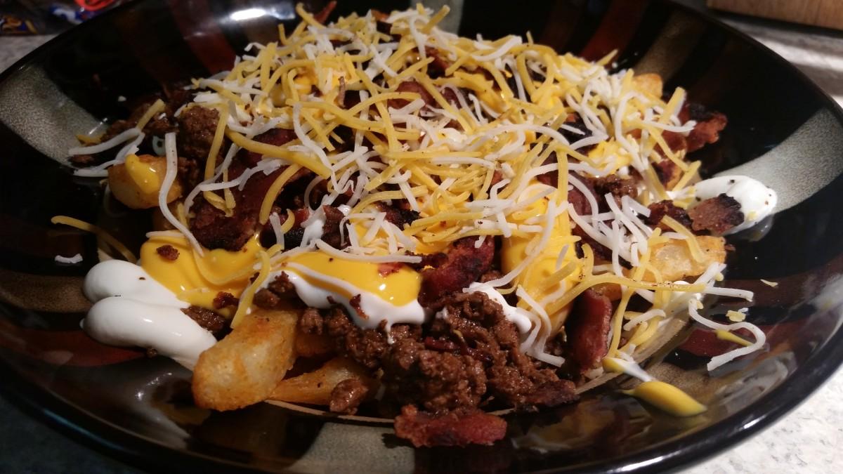 Zesty, Loaded Taco Fries