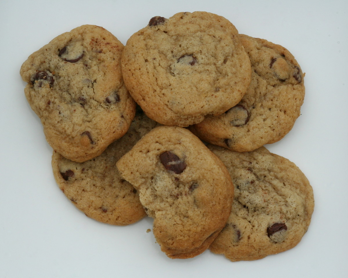Slimmed-Down Chocolate Chip Cookies