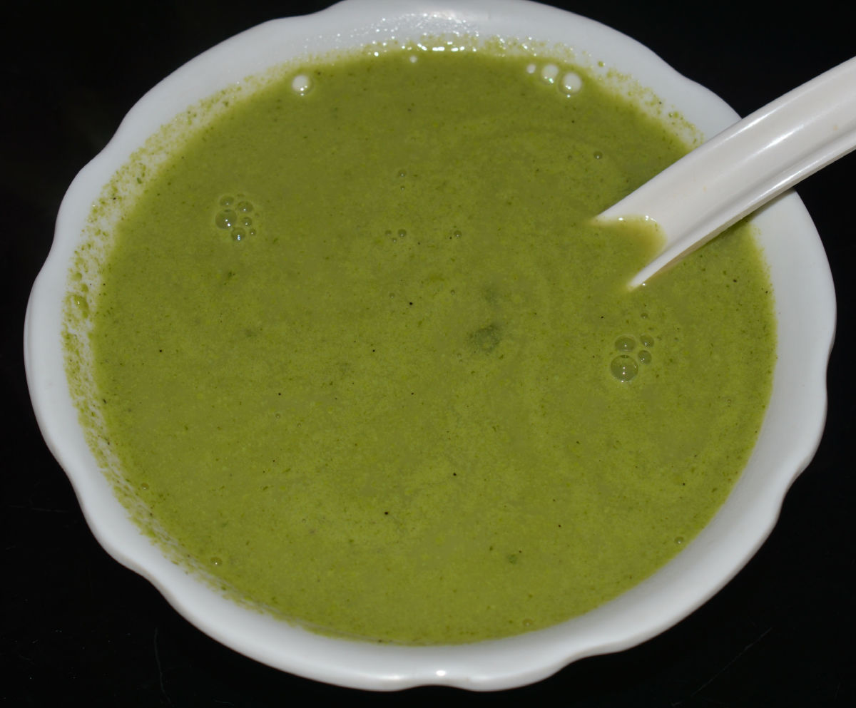 How to Make Quick and Easy Fresh Green Pea Soup