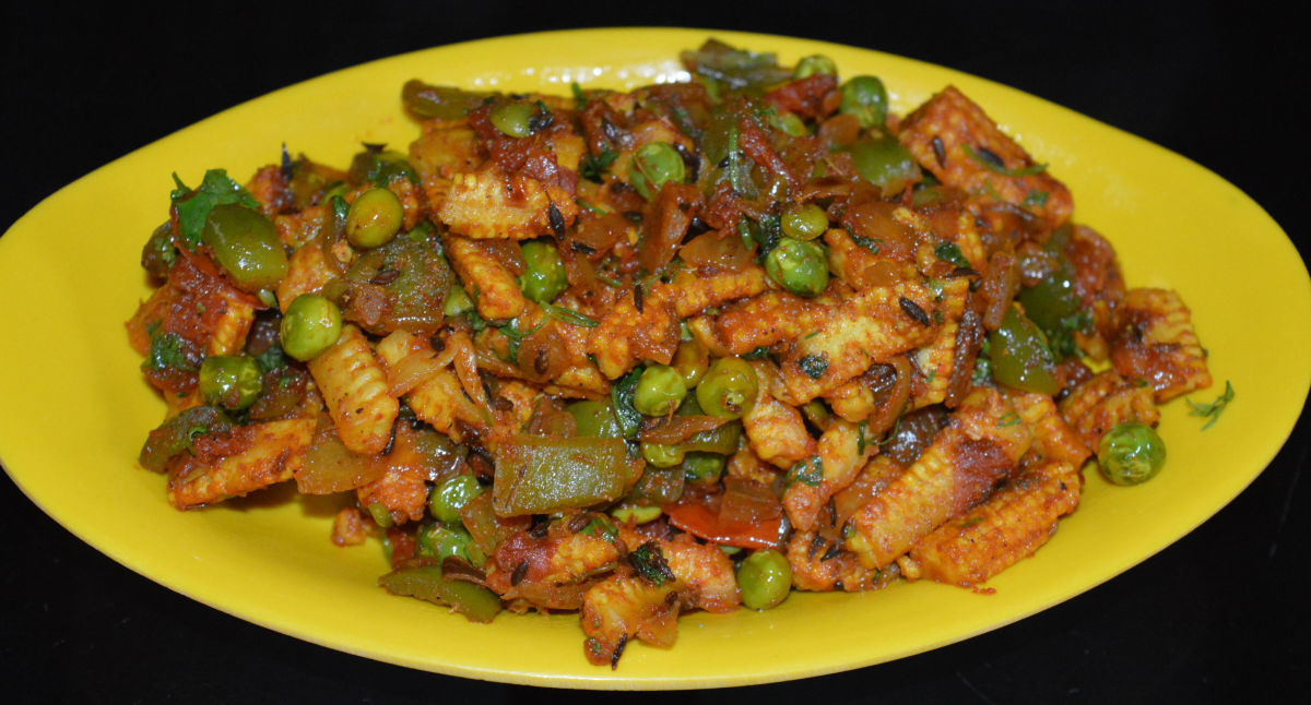 Baby Corn Dry Masala Curry