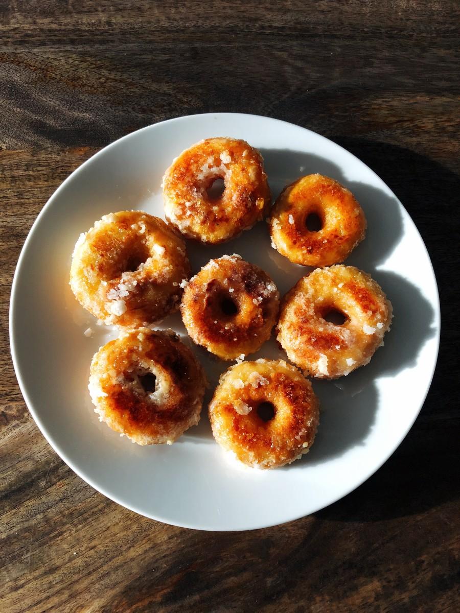 Malaysian-Style Glazed Donuts (Kuih Keria)