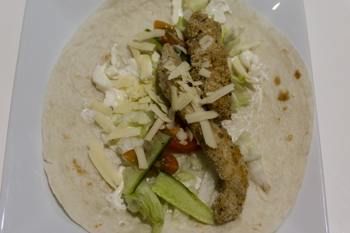 The Best Easy-to-Make Chicken Wraps for Fussy Eaters
