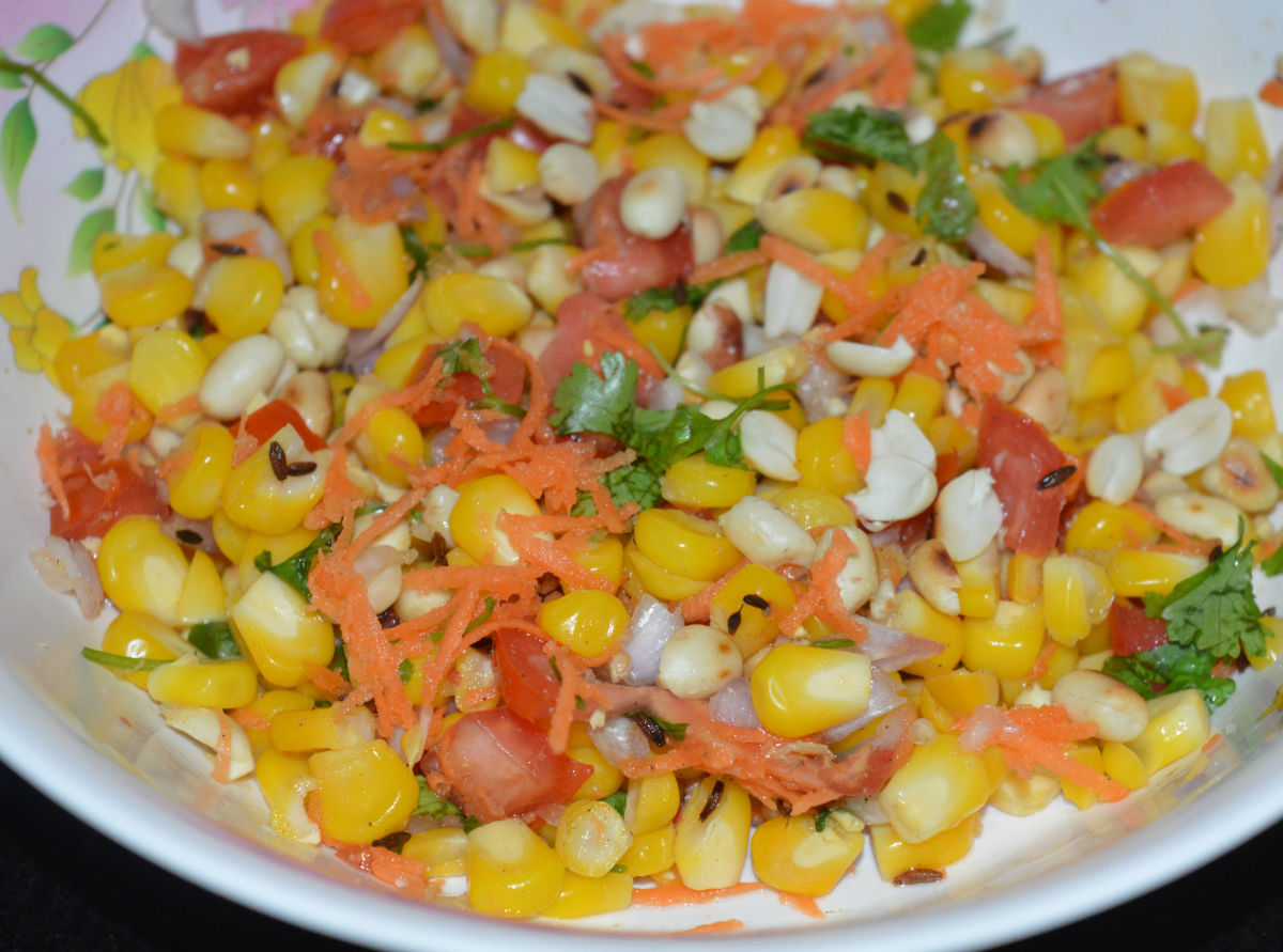 How to Make Quick and Easy Sweet Corn Chaat
