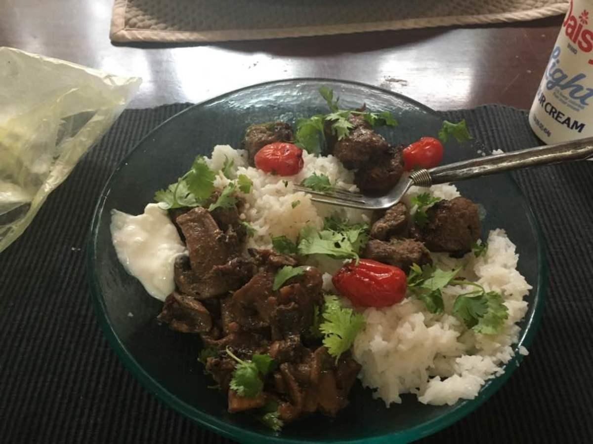 Uzbek Marinated Lamb Kebabs Recipe