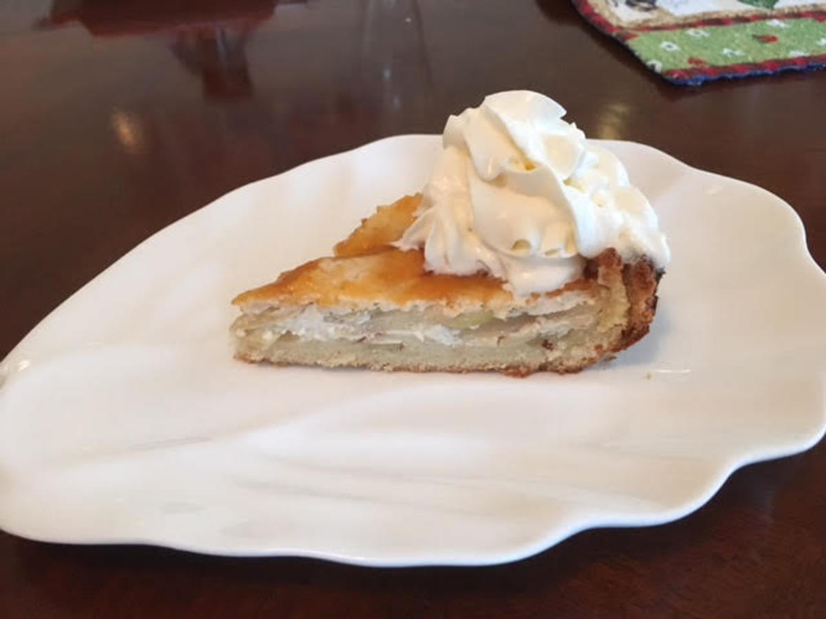 German Apple Tart