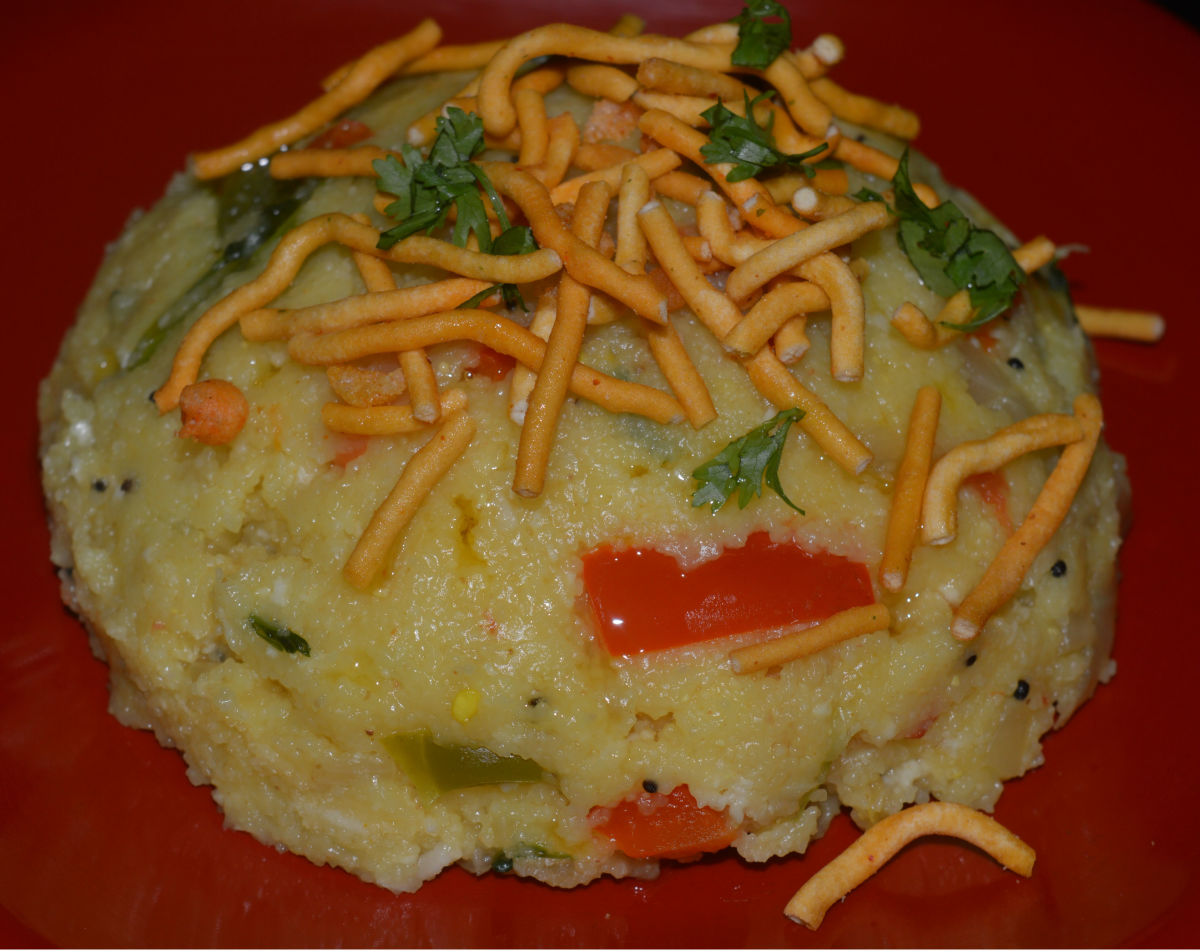 Making a Healthy Indian Breakfast: Vegetable Upma