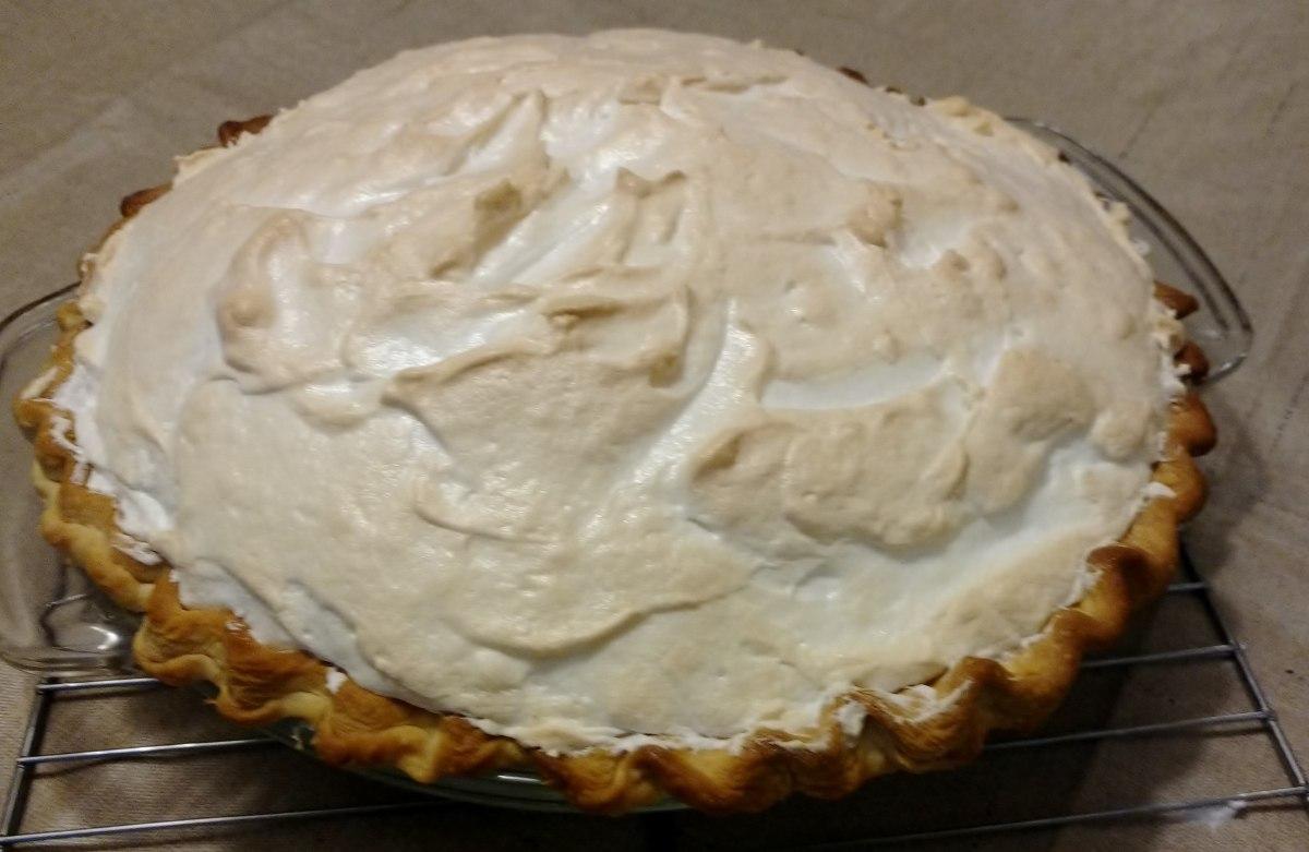Aunt Ethel's Caramel Pie