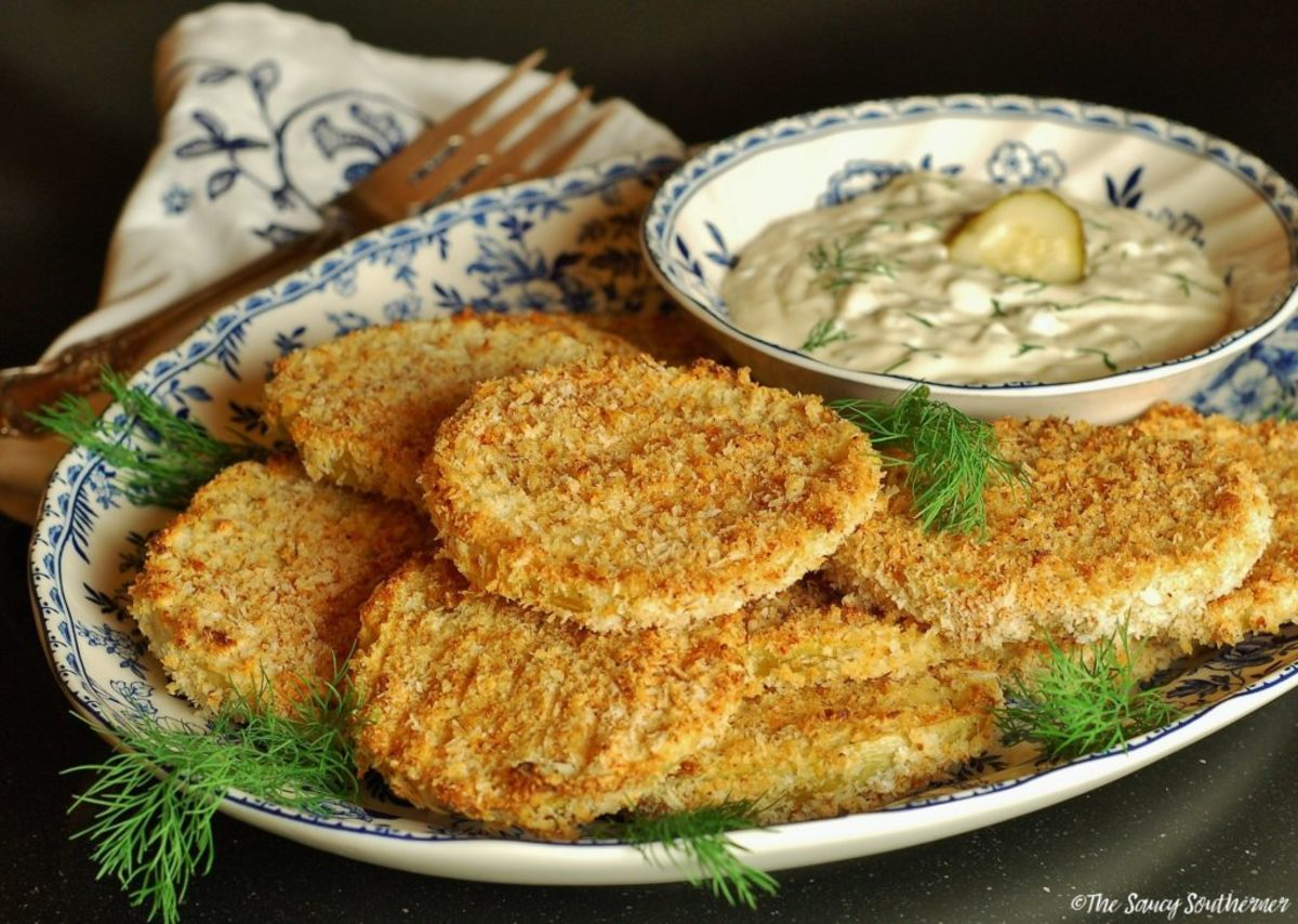 The Jewish Origins of Fried Green Tomatoes and a Kosher, Non-Dairy, Gluten-Free Recipe