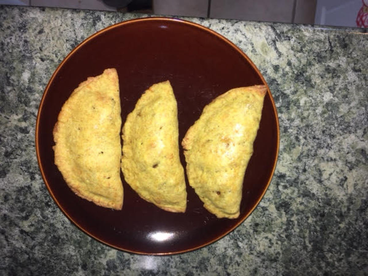 Vegetarian Jamaican Patty