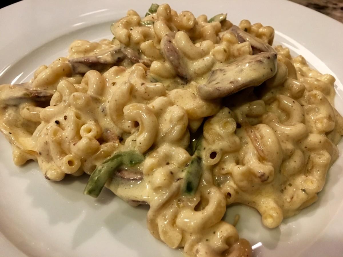 Chicken Fajita Macaroni and Cheese Recipe