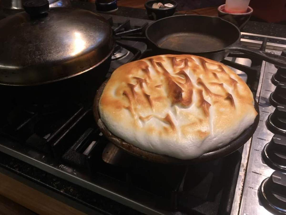 Decadent French Lemon Meringue Pie Recipe