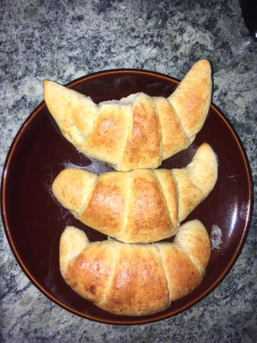 Easy Whole Wheat Crescent Rolls