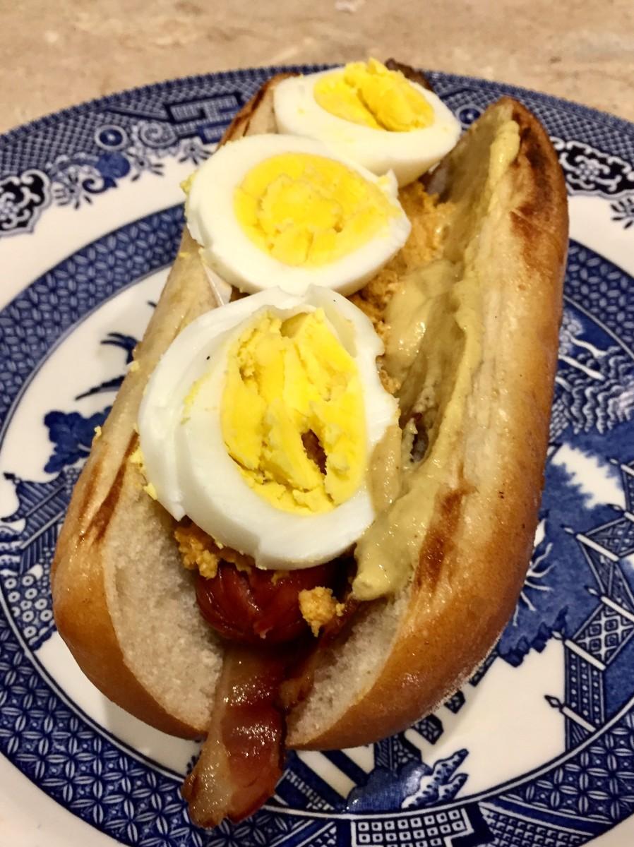Gourmet Hot Dog: The Rocky Balboa