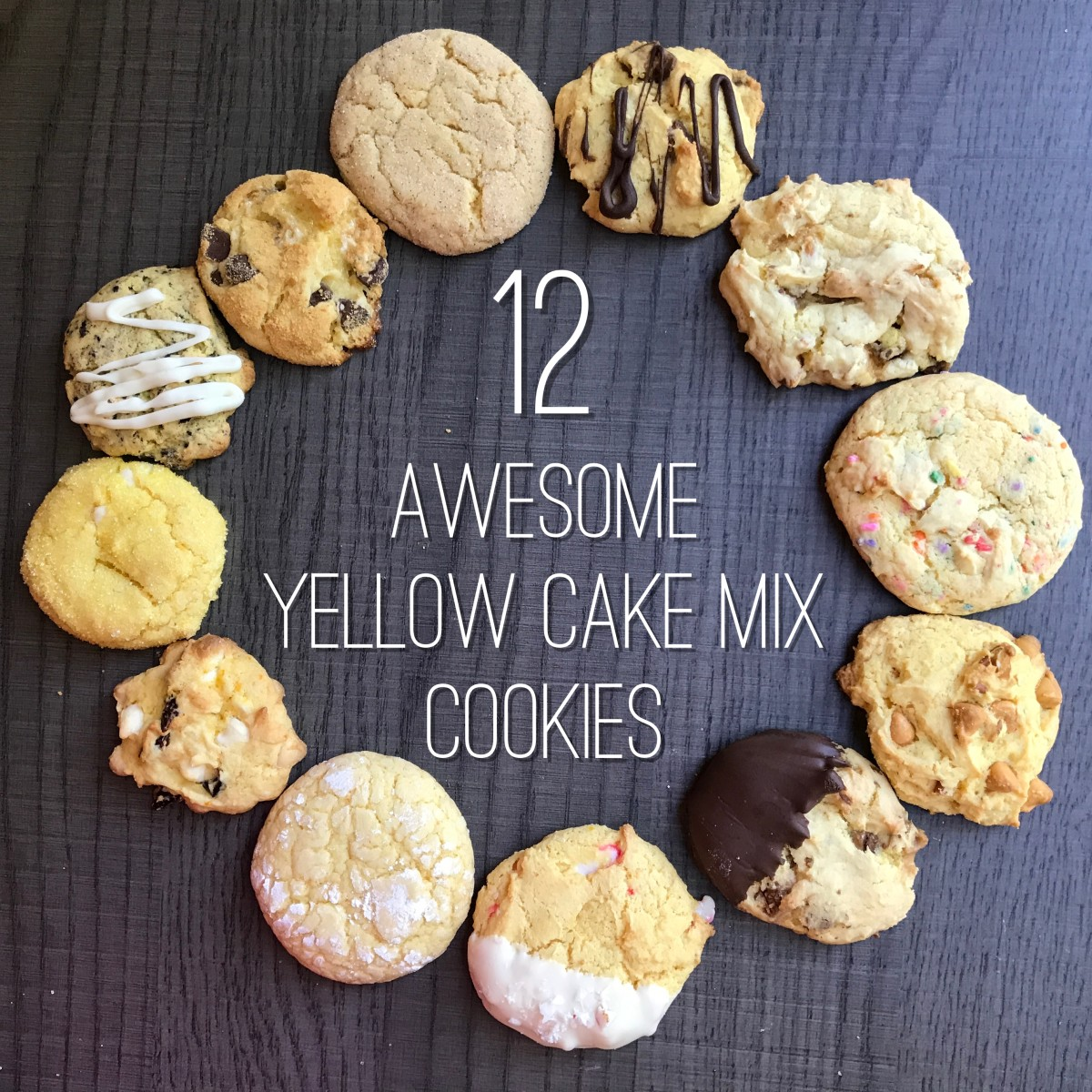 Cookies To Make With Yellow Cake Mix